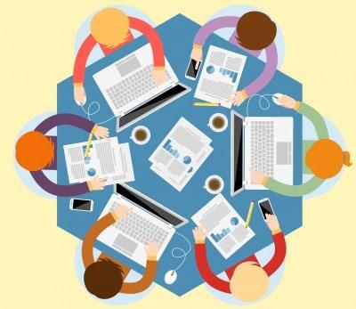 Travail collaboratif en entreprise